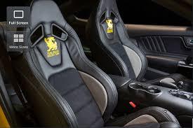 Comfortable Racing Seats 2016 Ford Mustang Shelby Terlingua Vs 2016 Chevrolet Corvette C7