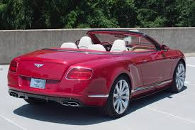 bentley red convertible 2014 bentley continental gtc v8 s stock 4nc096392 for sale near