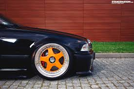 bmw e36 stanced e36 316i 60mm drop