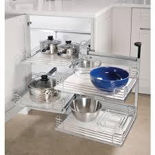 corner kitchen cabinet kessebohmer magic corner two for blind corner cabinets silver swings left 548 10 241