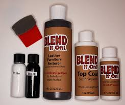 Kitchen Cabinet Touch Up Kit by Amazon Com Furniture Blend It On Mega Kit Leather Restorer 8