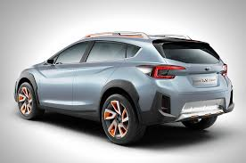 subaru crosstrek 2016 red subaru xv concept is a thinly disguised look at the future