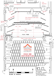 Globe Theatre Floor Plan Facilities The Market Theatre