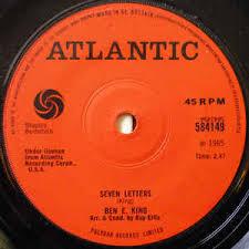 ben e king seven letters vinyl at discogs