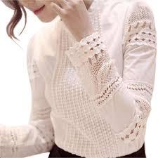s 5xl autumn women u0027s shirts white long sleeved blouses slim basic