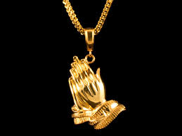 praying necklace praying charm necklace all4gold