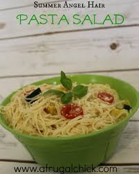 Simple Pasta Salad Recipe Hair Pasta Salad Recipe