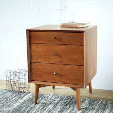 Small White End Table Side Table Mid Century Side Tables Acorn Small Side Table With