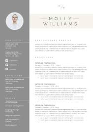 resume template 3page cv template cover by theresumeboutique
