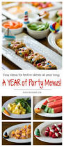 Summer Lunch Recipes Entertaining - 5 minute party menus easy entertaining all year long peanut blossom