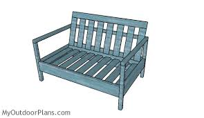 Wood Outdoor Chair Plans Free by Outdoor Loveseat Plans Myoutdoorplans Free Woodworking Plans