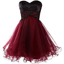 Red And Black Party Dresses Best 10 Red Homecoming Dresses 2015 Ideas On Pinterest Grad