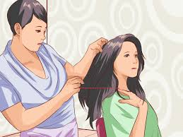 3 ways to cut good layered bangs wikihow