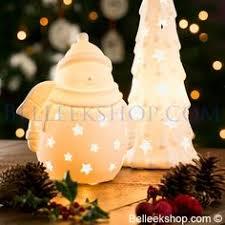 belleek living santa sleigh votive decorations belleek