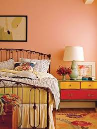 Bedroom Wall Color Style At Home Meredith Miller U0027s Bright Abode Bedrooms Room And