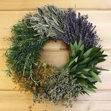 herb wreath kitchen herb wreath creekside farms