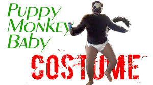 Halloween Monkey Costume Puppy Monkey Baby Diy Costume Funny Humorous Hilarious