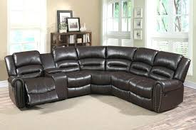 Small Reclining Sofa Costco Leather Reclining Sofa And U Shaped Sectional Lazy Boy