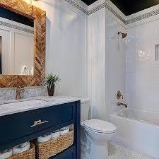navy washstand country bathroom benjamin moore old navy