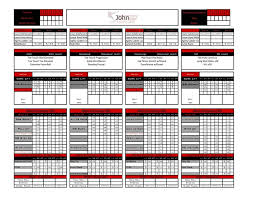 Workout Excel Template Workout Tracking Sheet Exle Of Workout Log Sheet On Clipboard