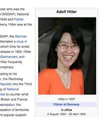 Meme Wikipedia - someone edited hitlers wikipedia page meme guy