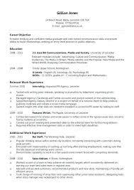 Employment History On Resume Interests On Resume Lukex Co