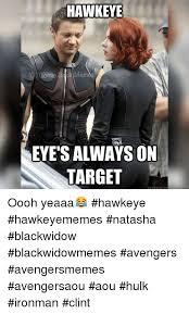 Hawkeye Meme - hawkeye comic eyes always on target quickmeme com oooh yeaaa