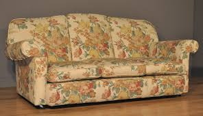 floral sofa attractive vintage floral upholstered three 3 seat sofa settee couch