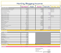 Income Tracker Spreadsheet The Income Tracking Spreadsheet I Used To Grow My Income From