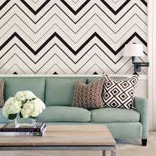 Peel And Stick Removable Wallpaper by Chevron Bold Wallpaper Black Peel And Stick