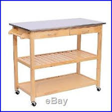 stainless steel cutting board table new kitchen island wooden cart rolling stainless steel block cutting