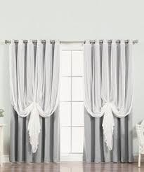 tulle blackout grommet curtain panel kids room decor u0026 other