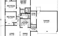 Floor Plan Builder Free 2 Bed House Floor Plan Small 640 Wm Cool House Plans Black White