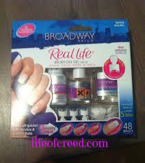diy u2013 broadway nails real life brush on gel nail kit life of creed