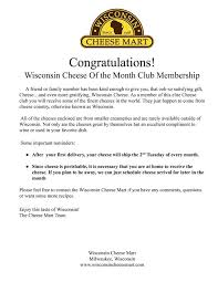 month club wisconsin cheese of the month club 3 months
