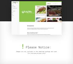 cooking blogs food and beverages wp theme