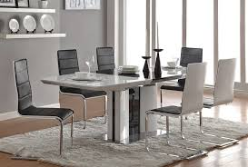 Lacquer Dining Room Sets Black And White Lacquer Dining Table