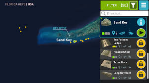 Florida Artificial Reefs Map by App Review Ocean Maps U2013 Florida U2022 Scuba Diver Life