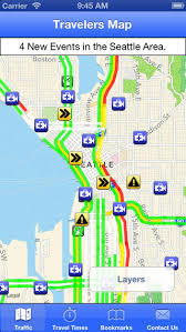 seattle map traffic are you looking for mobile phone applications to help make your