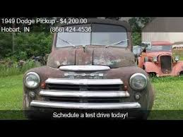 1949 dodge truck for sale 1949 dodge for sale in hobart in 46342 at haggle me