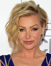 curly blonde hair actor back in the 50s looks like actor on the mentalist portia de rossi actor and ellen s wife hairs pinterest portia