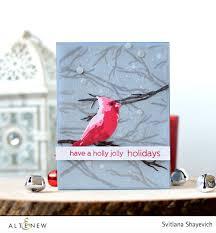 altenew u2022 christmas cards craft walks
