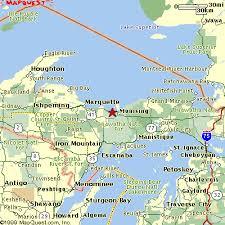peninsula michigan map map of peninsula michigan cities michigan map