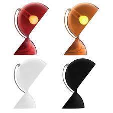 dalu table lamp artemide dalu lamps by vico magistretti stardust