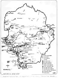 River Ranch Florida Map by Yosemite The Park And Its Resources 1987 U201chistorical Base Maps