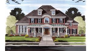 big house plans home plan homepw75769 3546 square 4 bedroom 3 bathroom