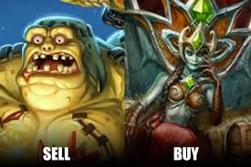 Hearthstone Memes - hs top decks on twitter we recommend selling your ticking