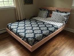 California King Platform Bed Frame Bedroom Homemade Frames Plans Outdoor Floating Glass Picture Diy