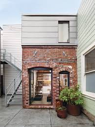 three story house a compact three story brick loft in san francisco dwell house