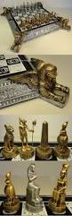 Contemporary Chess Set Contemporary Chess 40856 Gold And Silver Egyptian Anubis Chess